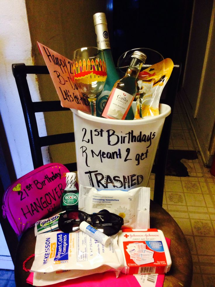 21st bday let get trashed Birthday Pinterest Awesome