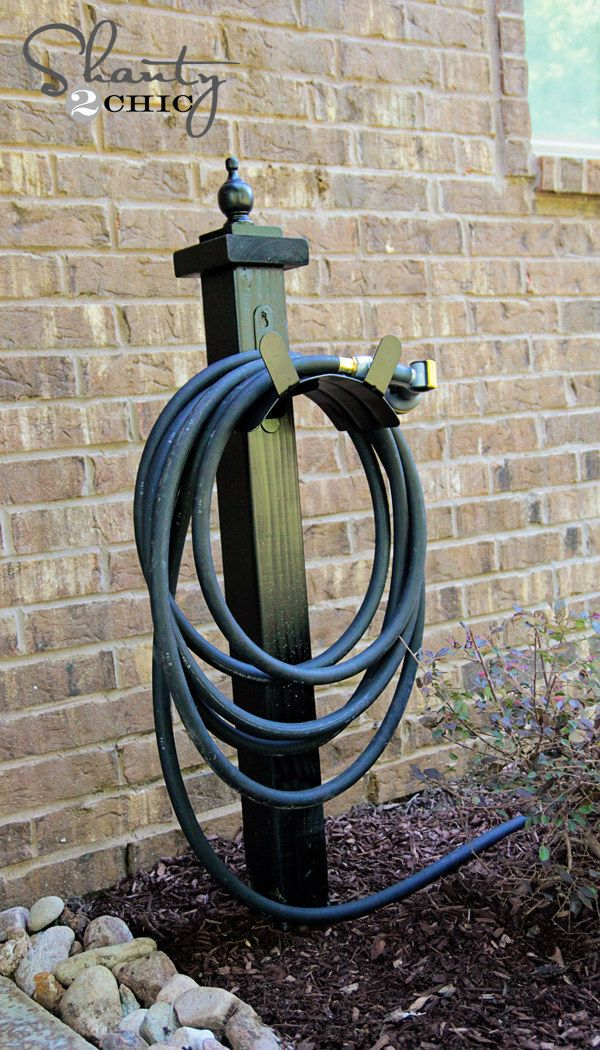 Start a container garden with these DIY planters. Hose
