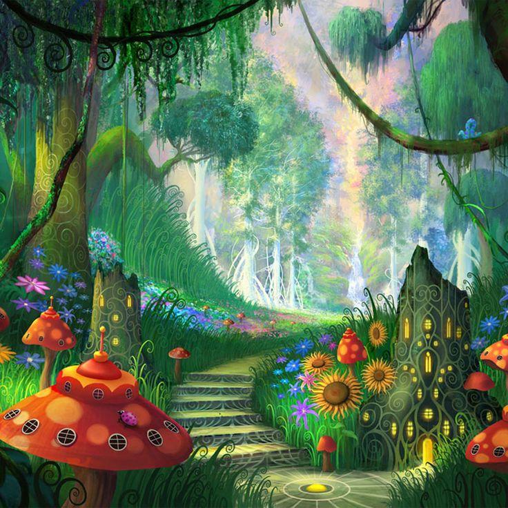 fantasy garden Alice in Wonderland Pinterest Gardens