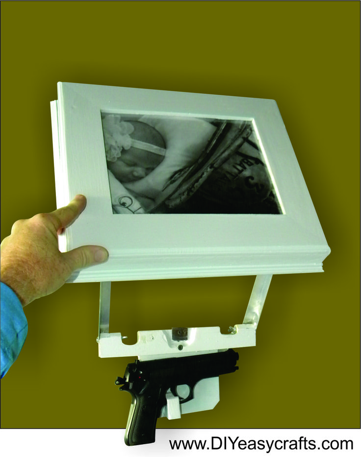 How To Make A DIY Secret Hidden Compartment Picture Frame