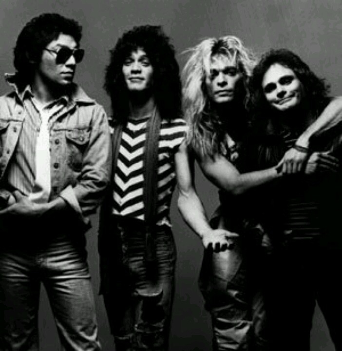 Alex Van Halen, Edward Van Halen, David Lee Roth