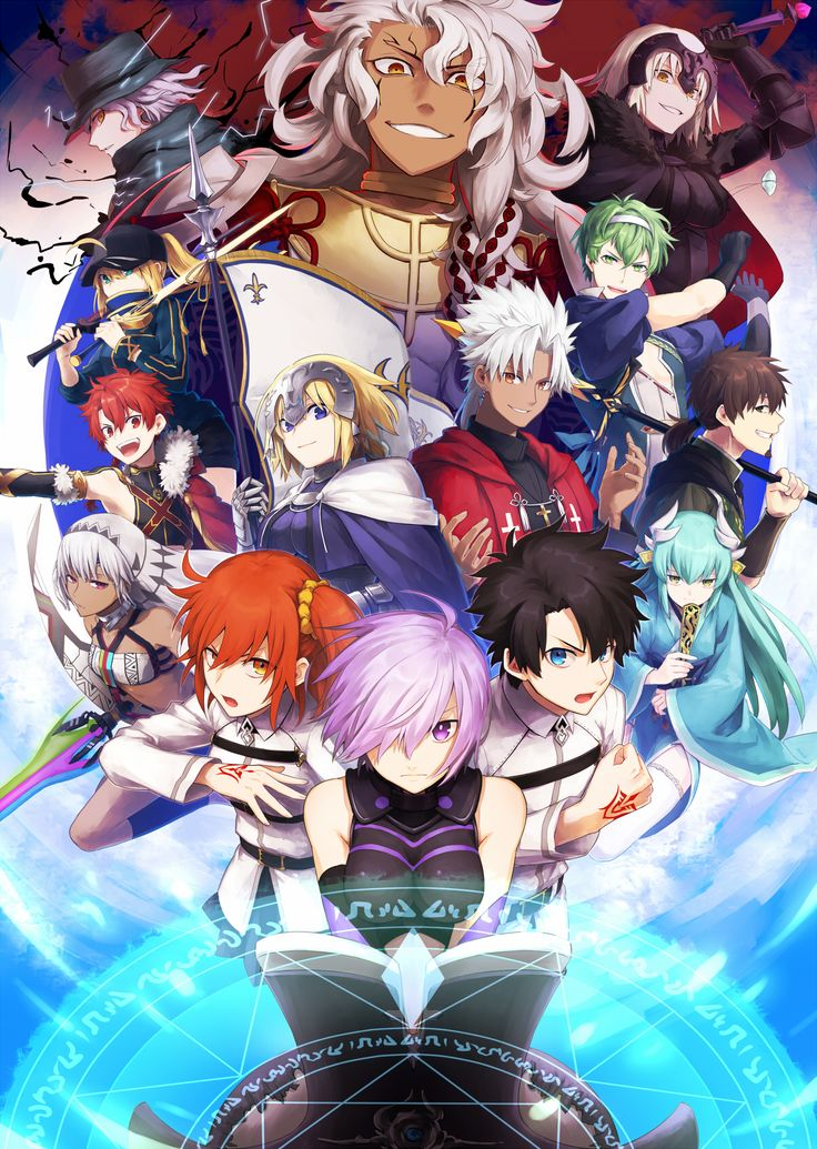 Fate/Grand Order All Over Nasuverse Pinterest