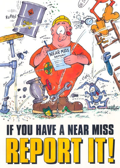 Cartoon character for health and safety campaign Safety