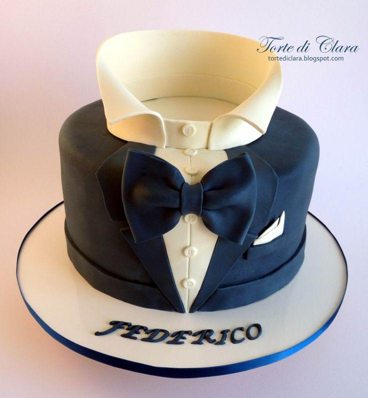Torte Di Clara Smoking Cake Torte Dolci Biscotti
