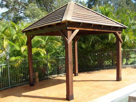 Picnic Shelter Designs Plans WoodWorking Projects Amp Plans