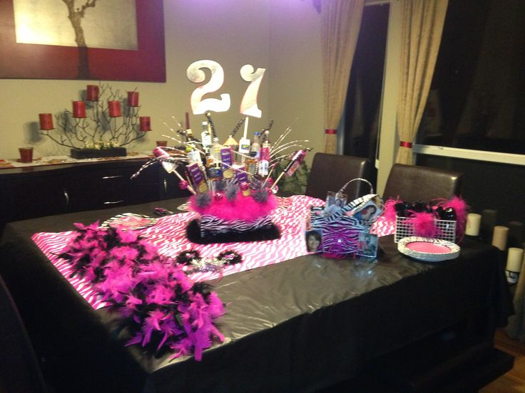 21st Birthday Parties Birthday Party Tables And Party