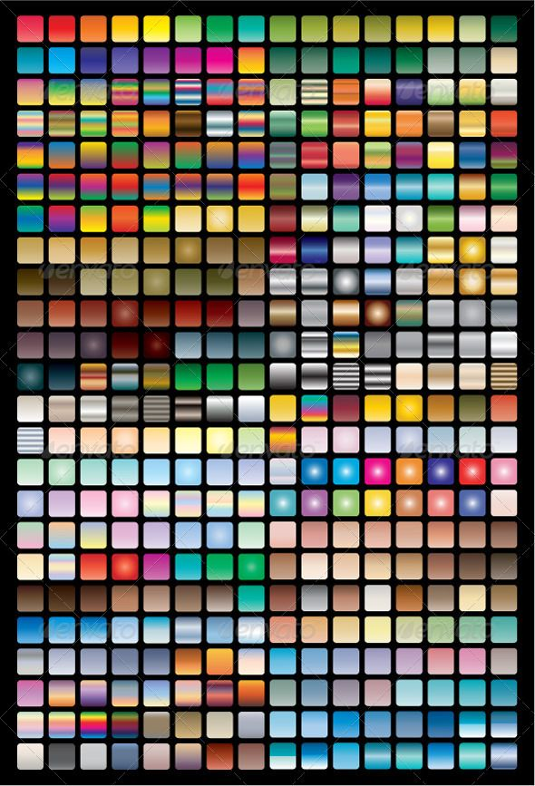 Vector Swatches & Gradients for Illustrator GraphicRiver