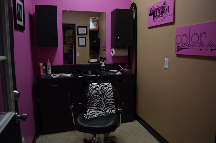 My 1st in home salon home salon