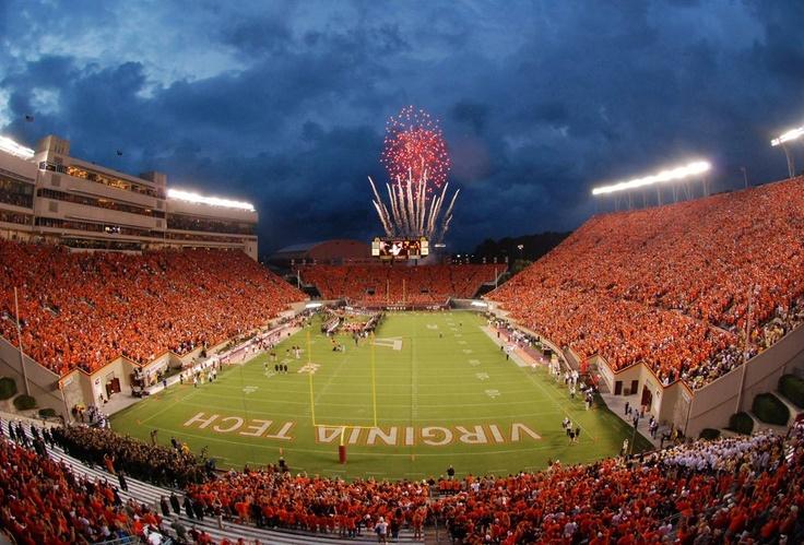 Virginia Tech football Lane Stadium Gotta be some of the
