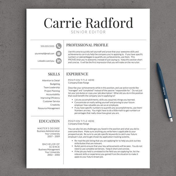 1000 ideas about best resume examples on pinterest resume