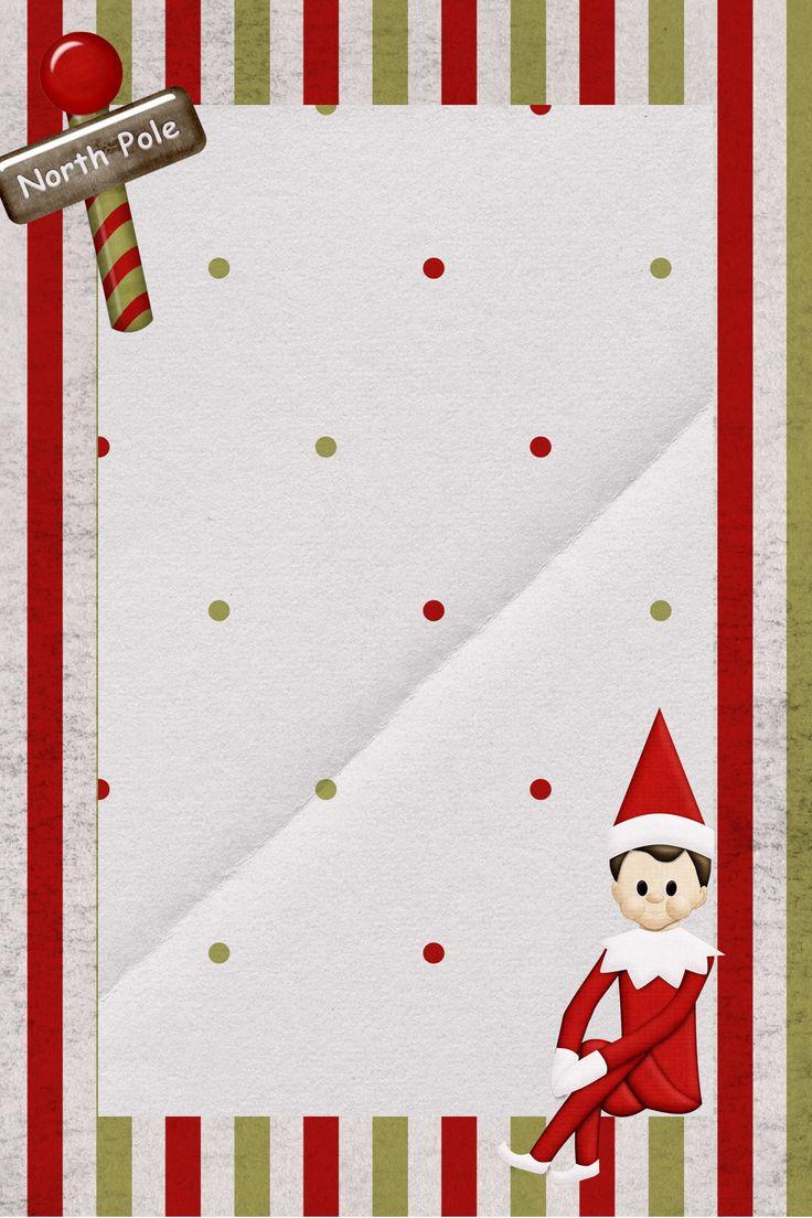 Super Cute Free Downloadable Elf on the Shelf Note