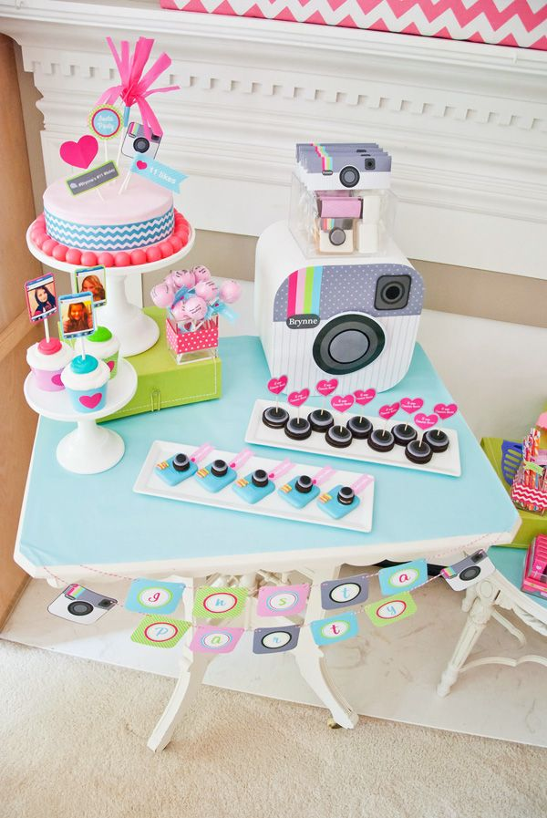Cute Amp Clever Instagram Birthday Party Instagram