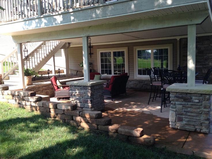 Patios decks ideas. 1000 ideas about patio under decks on ...