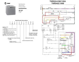 trane heat pump wiring diagram twn042c100a4 | Last edited