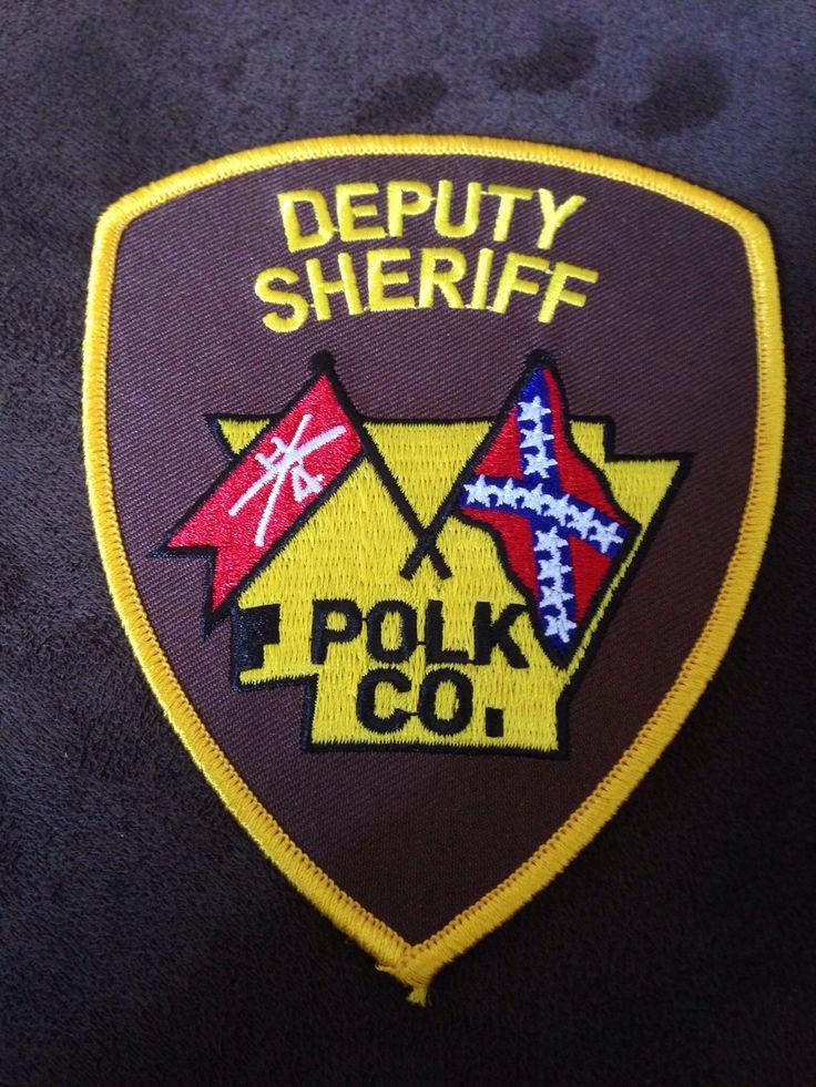 Polk County SO Arkansas Sheriff Department's Patches