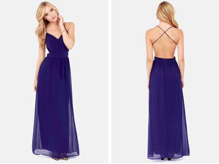 1000+ Ideas About Dark Blue Dresses On Pinterest