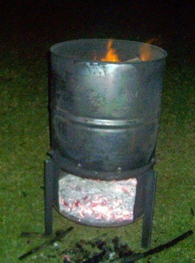 Burn Barrel For Quot True Quot Wood Smoking Pinteres