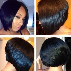 121 best images about short weave hairstyle on pinterest full sew in weave bobs and cute bob