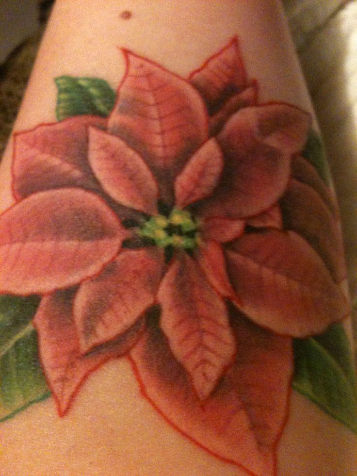 Poinsettia Tattoo Everything Poinsettia Pinterest