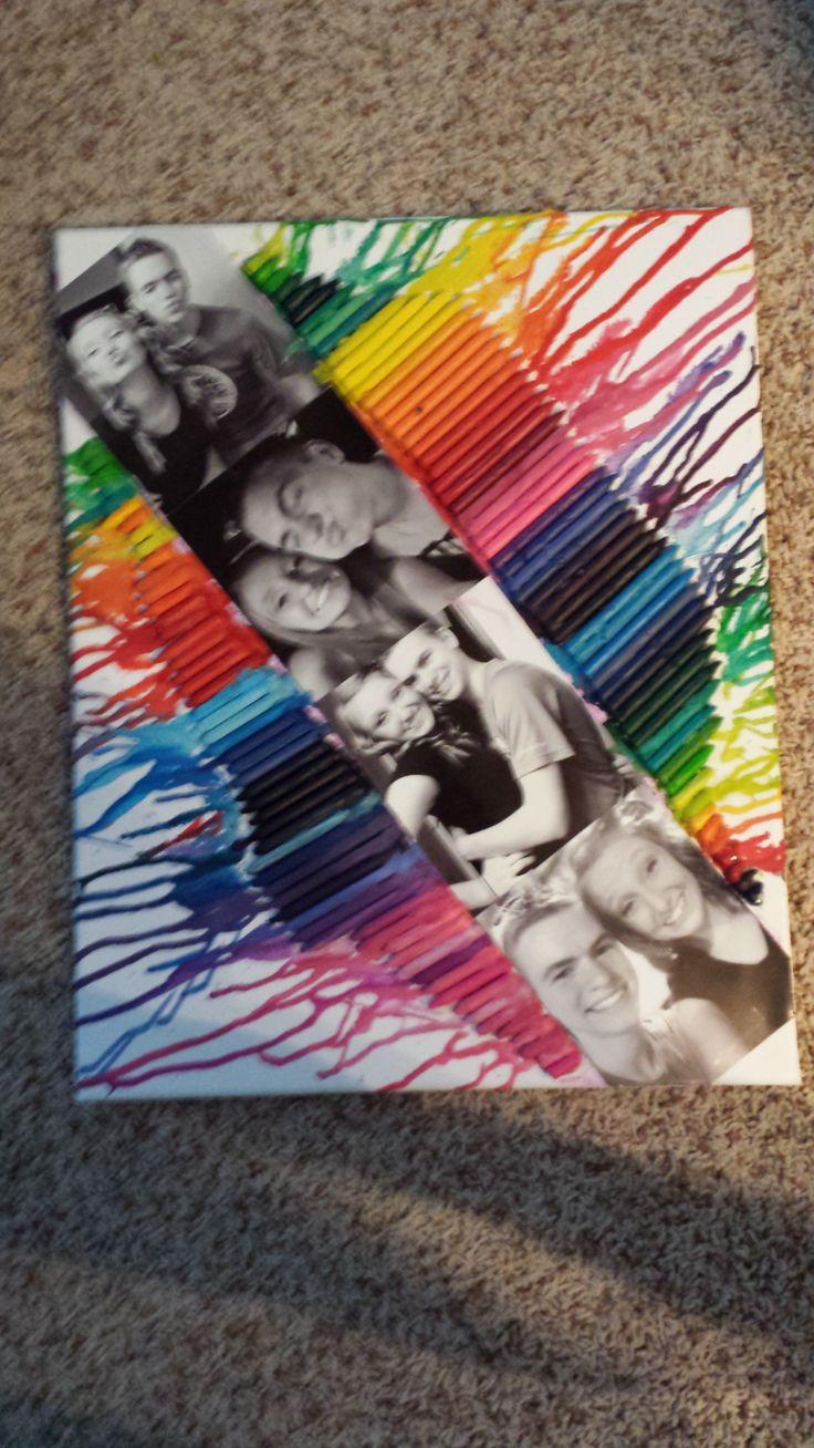Boyfriend gift crayon canvas Trisha Grendys want to try