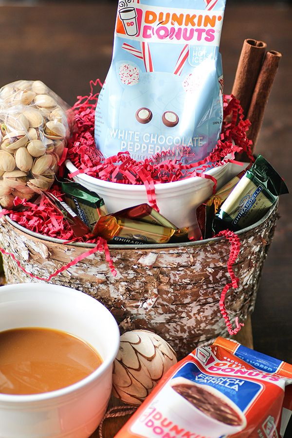 Coffee Lover's Holiday Basket Recipe Coffee gift