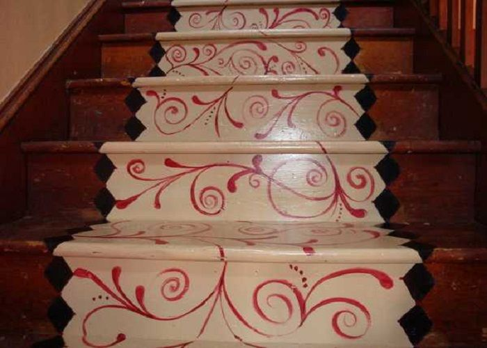 21 Best Stencilled Stairs Images On Pinterest
