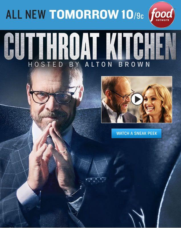 Cutthroat Kitchen Watch Host