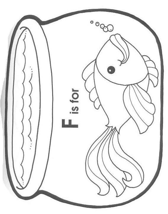 fish bowl coloring pagebowls colors fish colors pages coloring pages
