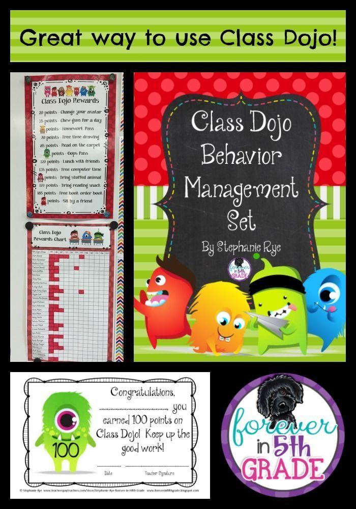 Try this FREEBIE for a new way to use Class Dojo that will