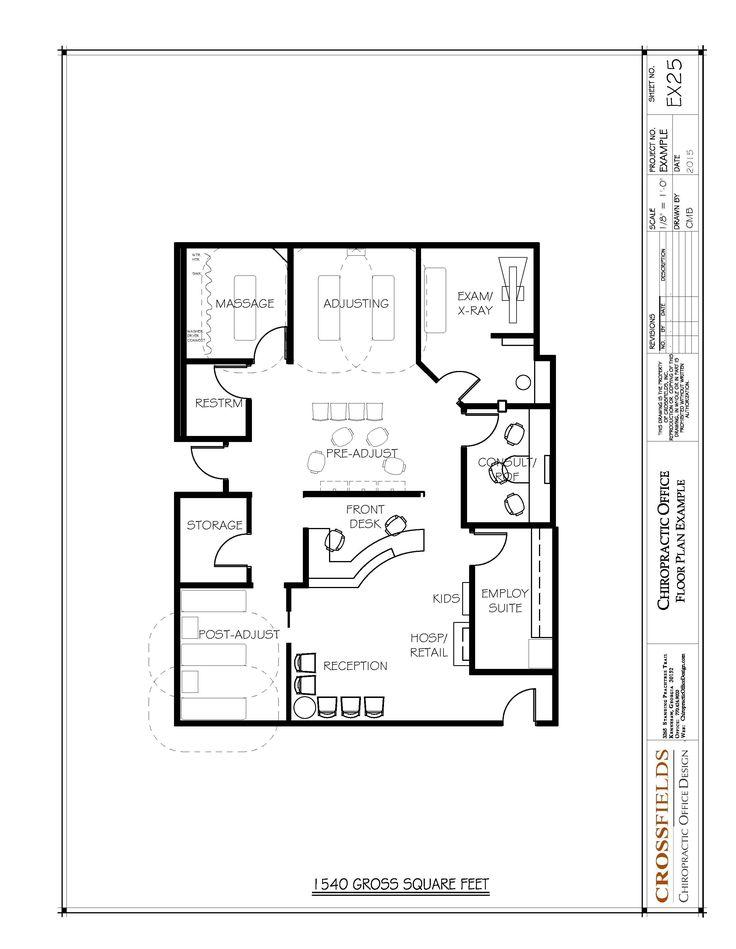 95 Best Images About Chiropractic Floor Plans