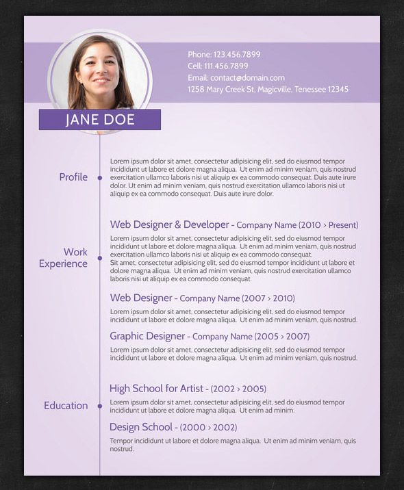 The 5 Best Fonts To Use On Your Resume, The Huffington Post