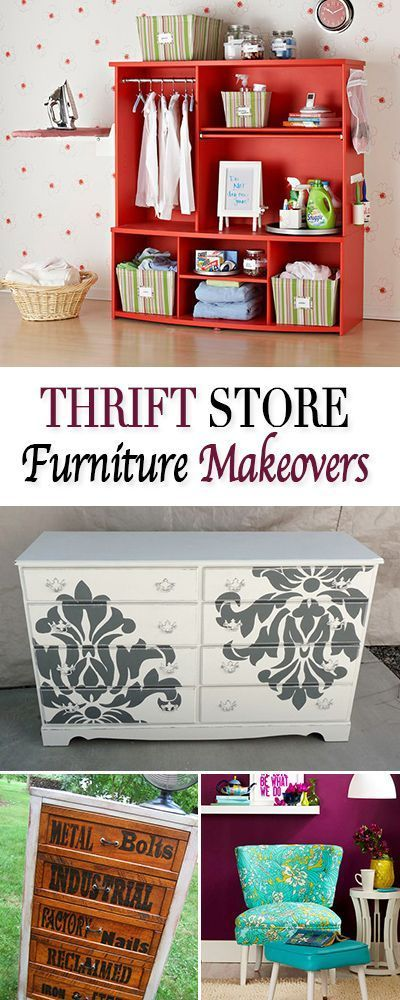 389 Best Images About Thrift Store Decor On Pinterest