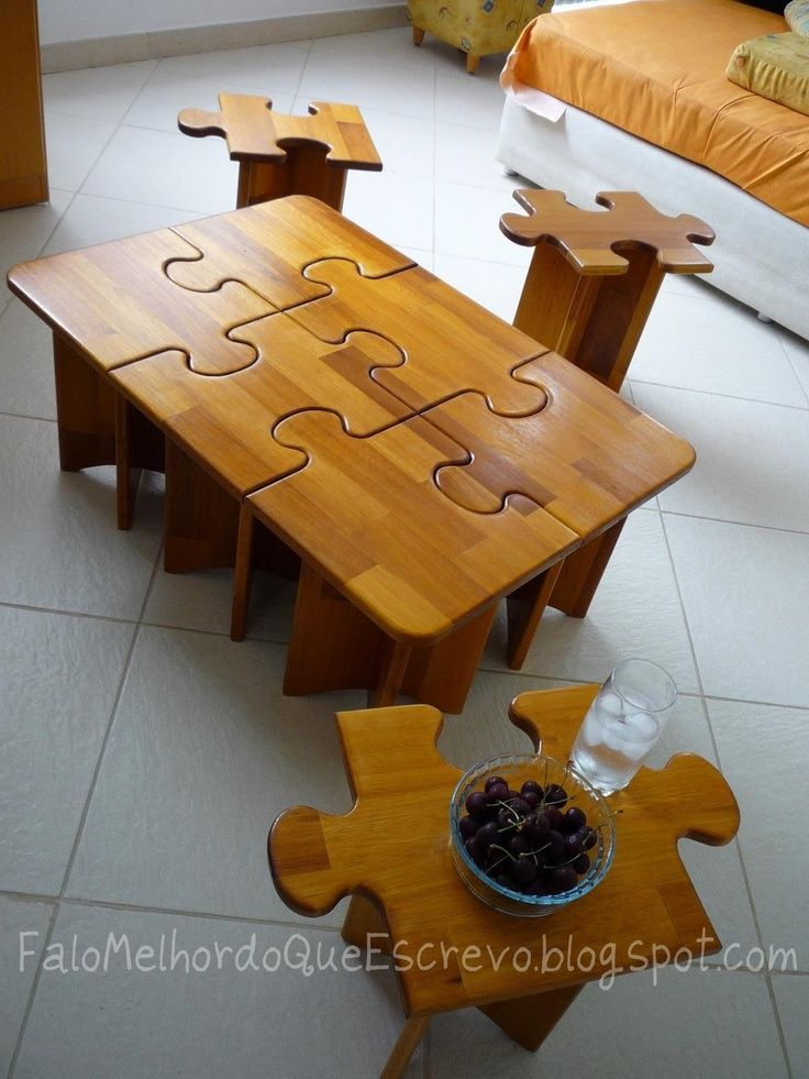 COOL Puzzle Table You Can Multi Purpose Step By Step