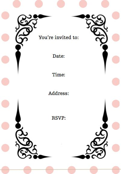 Best 25 Free Printable Birthday Invitations Ideas On
