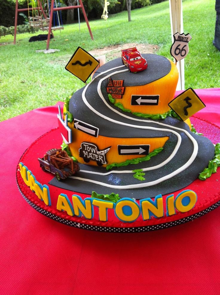 torta de cumpleaños cars!! kids Pinterest Cars