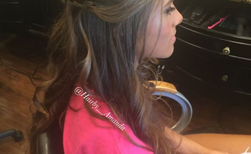 Sweet 16 Hairstyles With Tiara Beauty Within Clinic