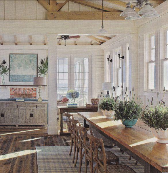 Coastal Livinga Relaxing But Elegant Kitchen Love The