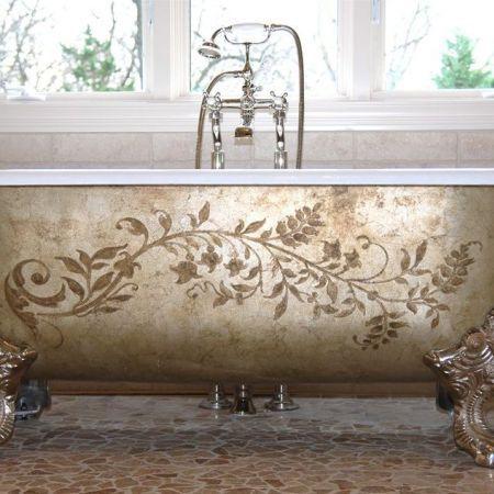 1000 Ideas About Painting Bathtub On Pinterest Double