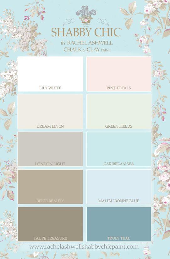 Shabby Chic Paint 10 Gorgeous Colors