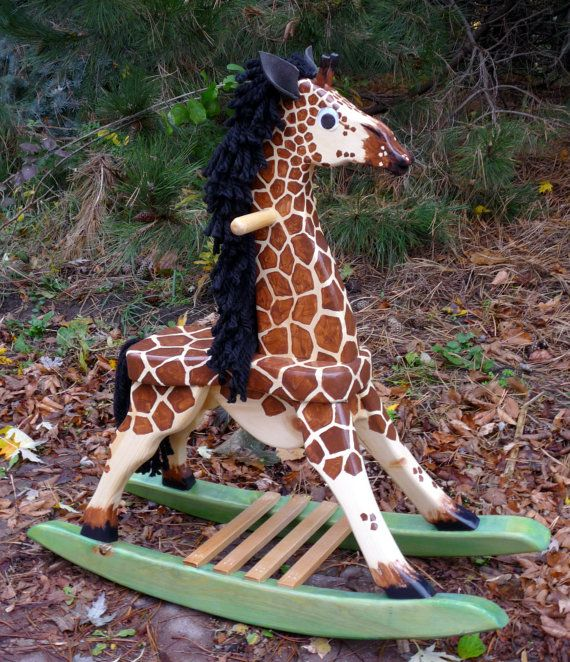 Toddler Rocking Giraffe Woodworking Plans 102 Giraffe
