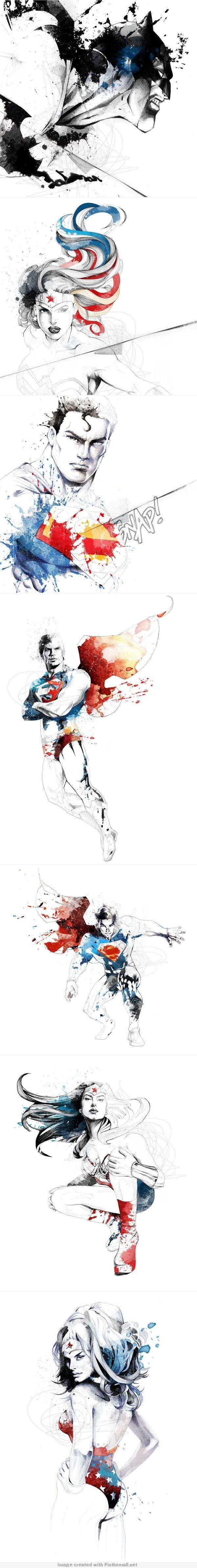 Pretty amazing art – DC COMICS by d