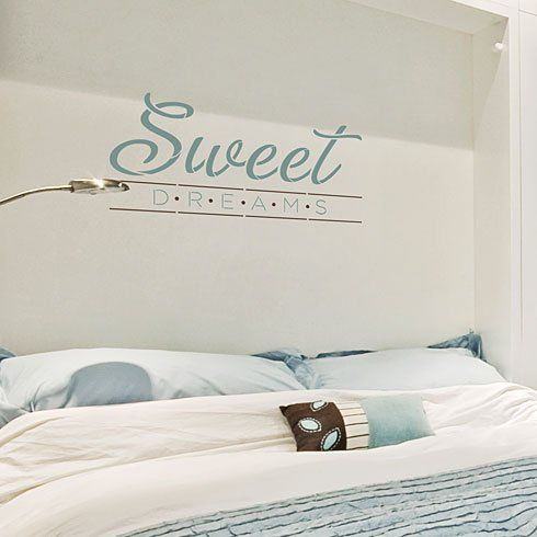 Sweet Dreams Wall Quote Stencil Reusable For Walls