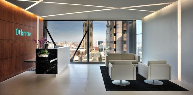 Office Reception Design- Ceiling