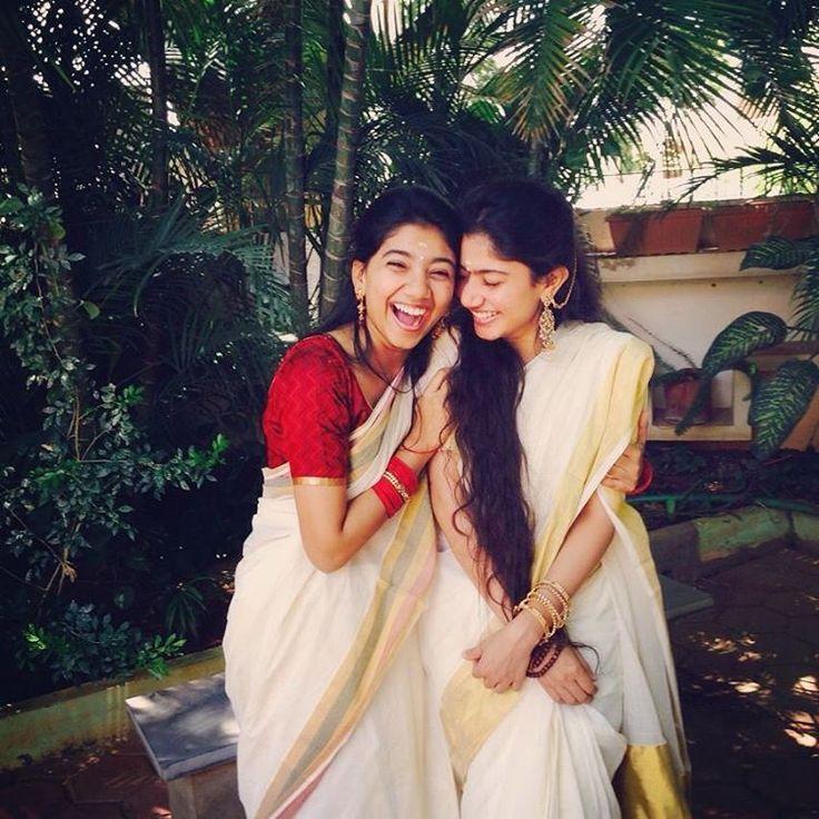 Sai Pallavi with Sister Pooja Kannan Photos 2 WOW