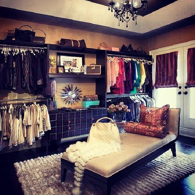 A dream closet instead! This is exactly what I've been saying I need!