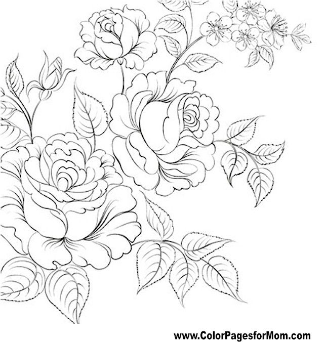 coloring pages flowers coloring pages tattoo designs adult coloring
