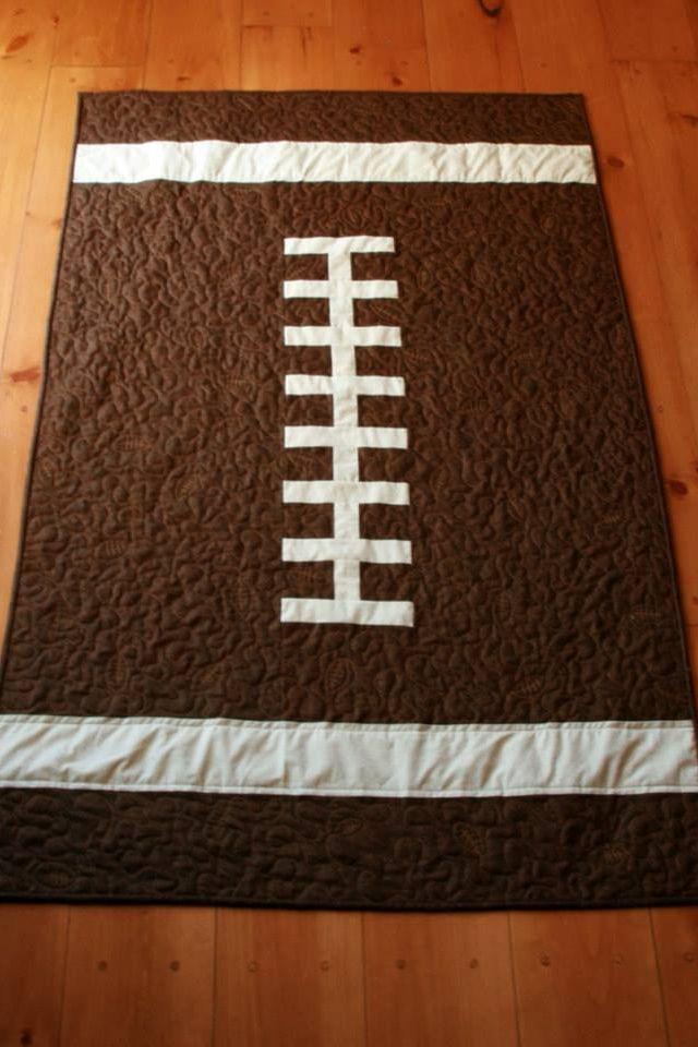 Best 25 Football Quilt Ideas On Pinterest Sports Quilts