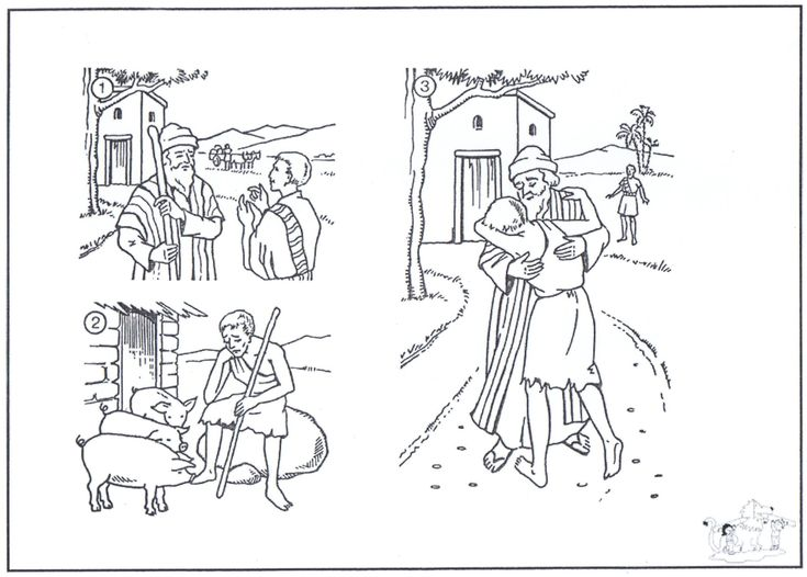 The Prodigal Son Leaving Clip Art – Cliparts