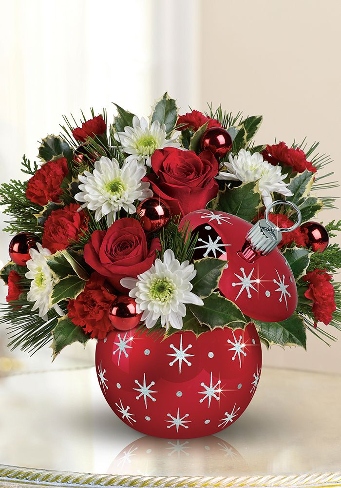 Celebrations by Radko from Teleflora adds a touch of