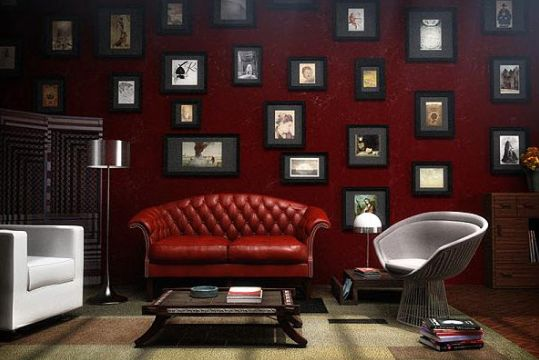 An Oxblood Red Chesterfield Sofa Should Be On Everyone S